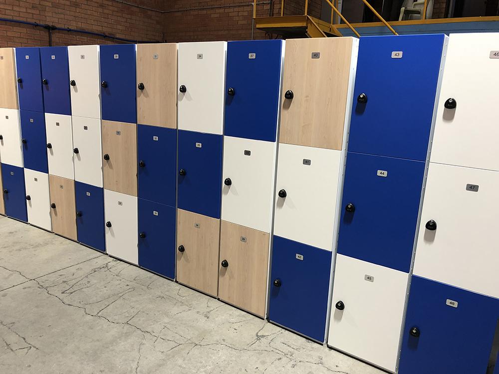 Three Tier Hybrid Lockers