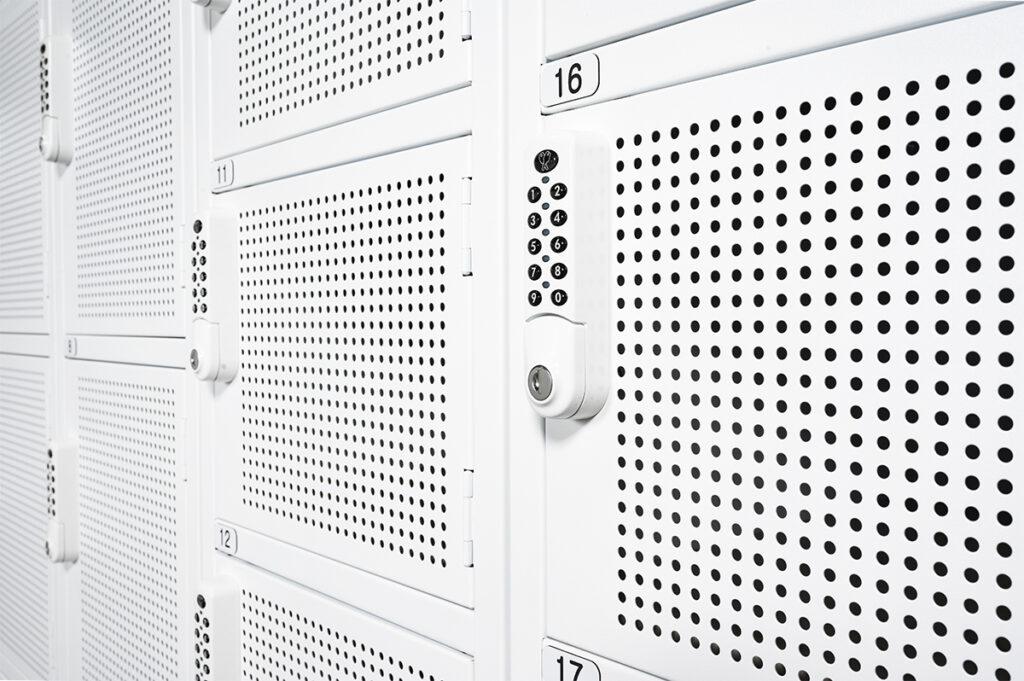 Perforated Locker Doors – Brisbane Museum