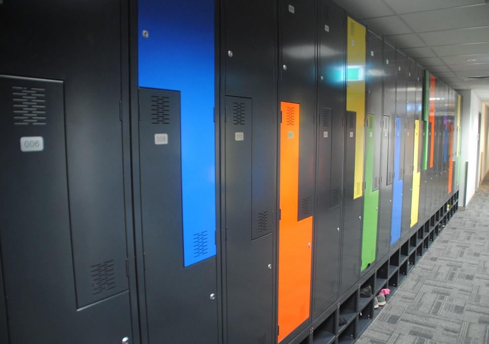 Z-Door Multi-Coloured Lockers – Treasury ACT