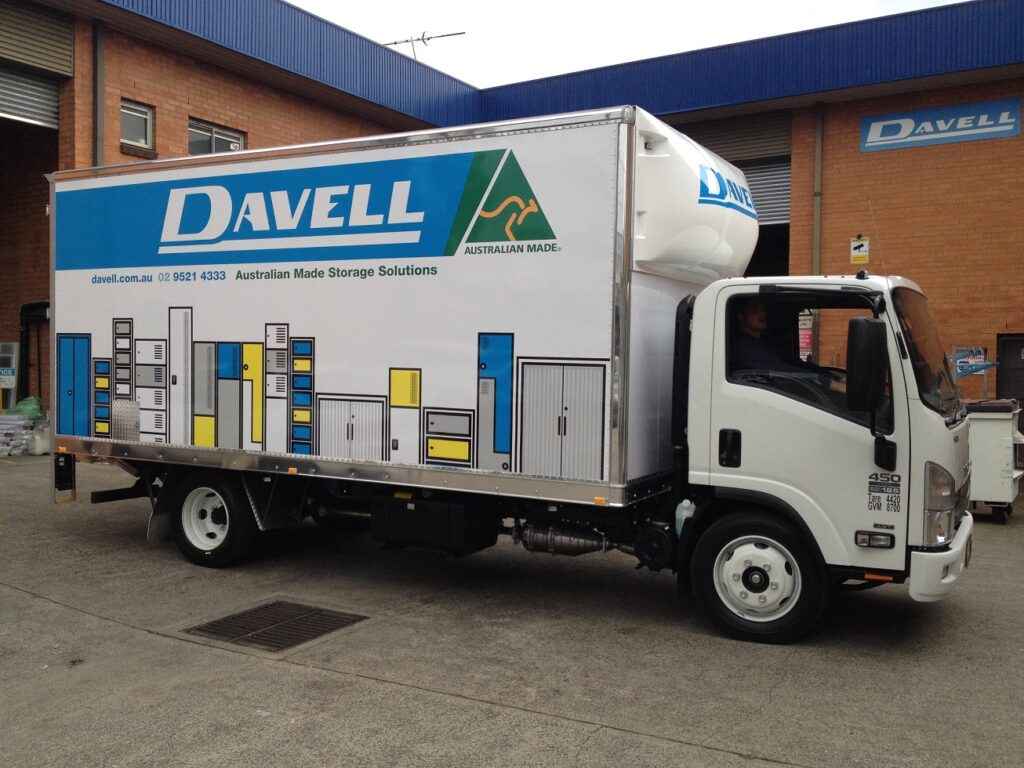 Davell's Delivery Truck