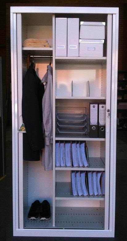 Executive Tambour Door Cabinet