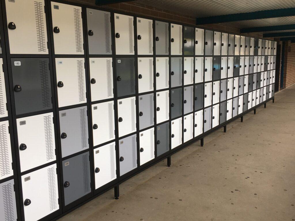 Four Tier Contemporary Lockers – Galston High School, NSW